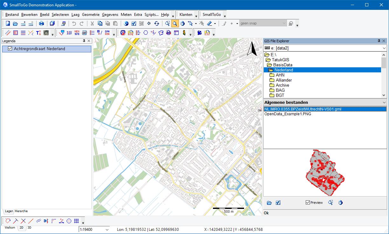 SmallToGo - GIS Files Explorer