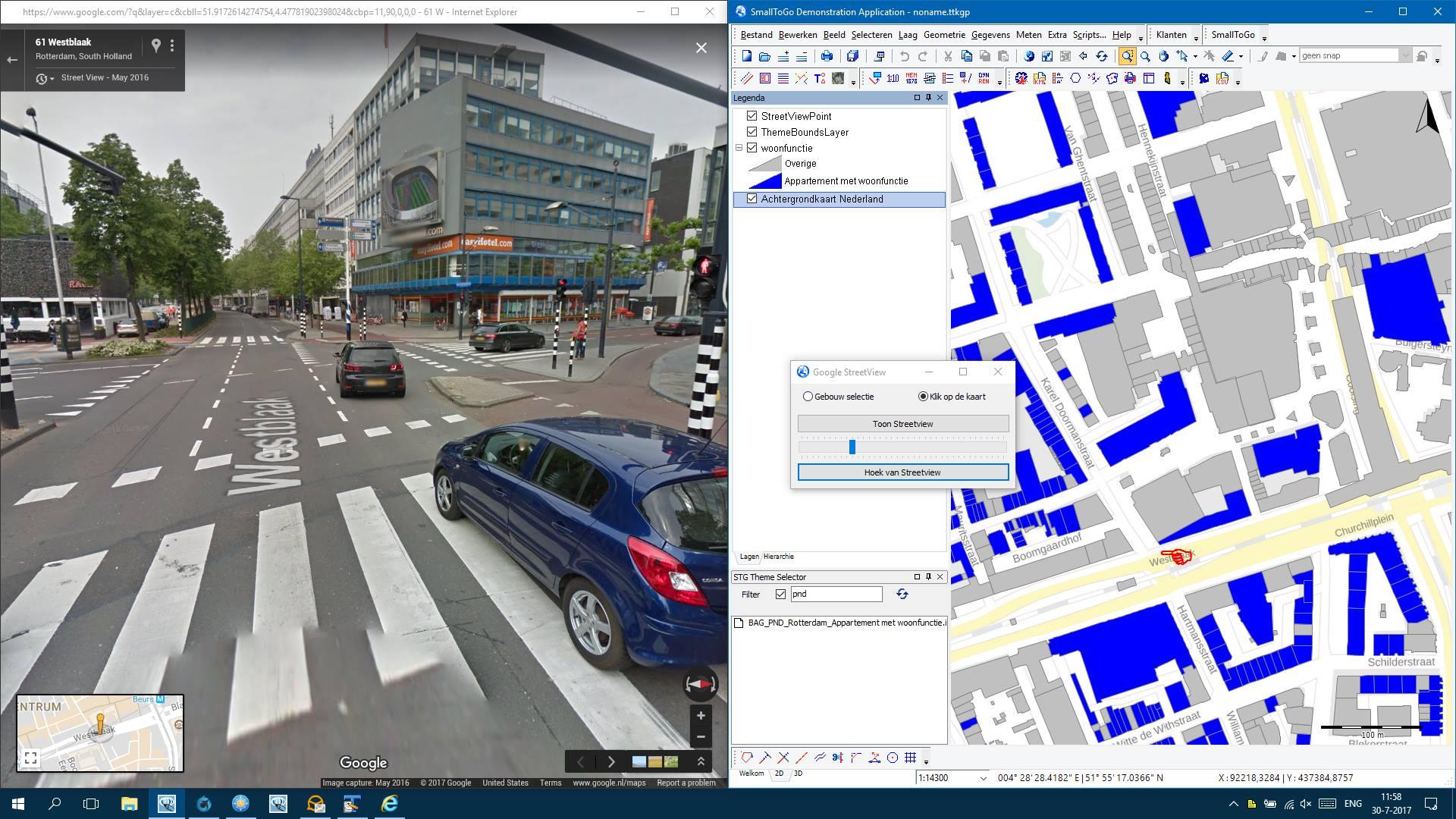 SmallToGo - Streetview